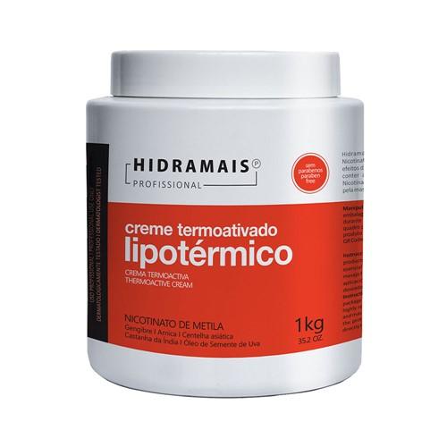 Creme Hidramais Termoativado Lipotérmico 1000g