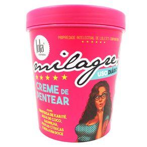 Creme Lola Cosmetics Milagre para Pentear 450g