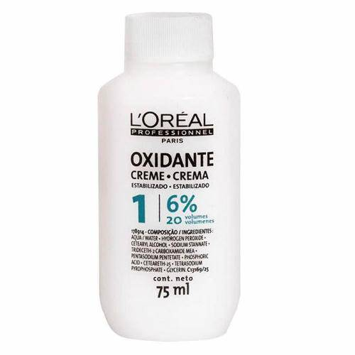 Creme Loreal Professionnel Oxidante 6 75ml - (20 Volumes)