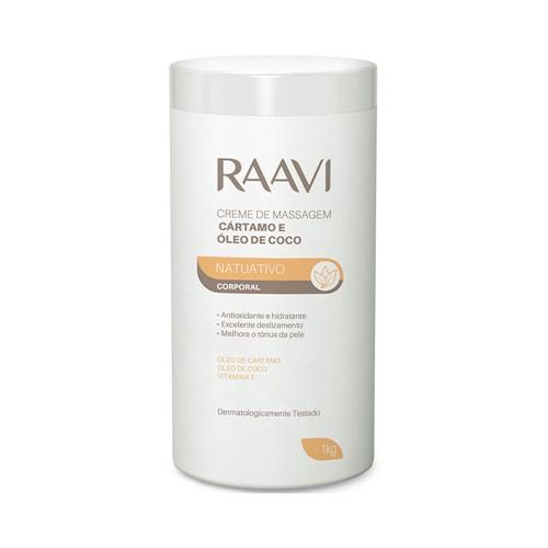 Creme Massagem Cartamo Raavi 1kg