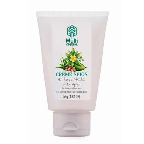 Creme Natural para os Seios 55g – Multi Vegetal