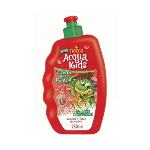Creme P/ Pentear Acqua Kids Lisos e Finos - 250ml