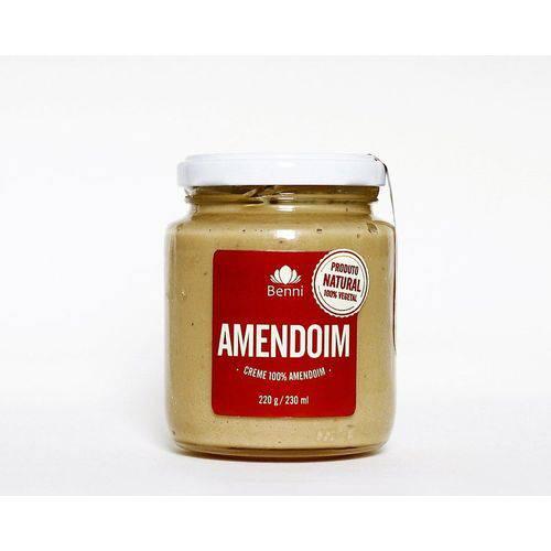 Creme Pasta de Amendoim 220g Benni Alimentos