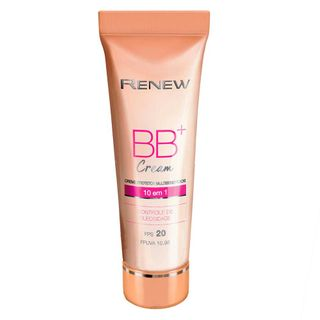 Creme Protetor Renew BB+ Cream Multibenefícios FPS 20 - Escura - 50 Ml