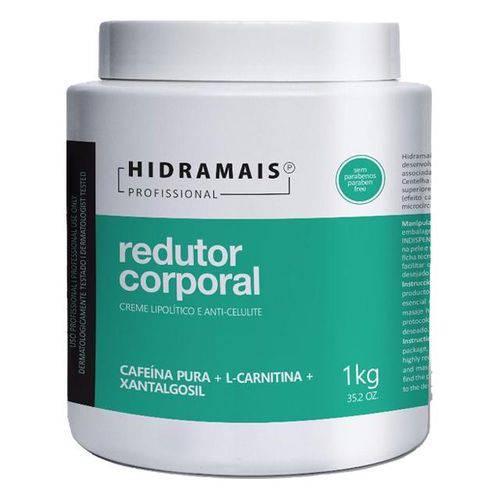 Creme Redutor Corporal Cafeína 1kg