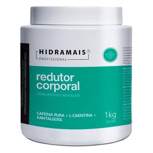 Creme Redutor de Medidas Corporal Hidramais Cafeína 1kg