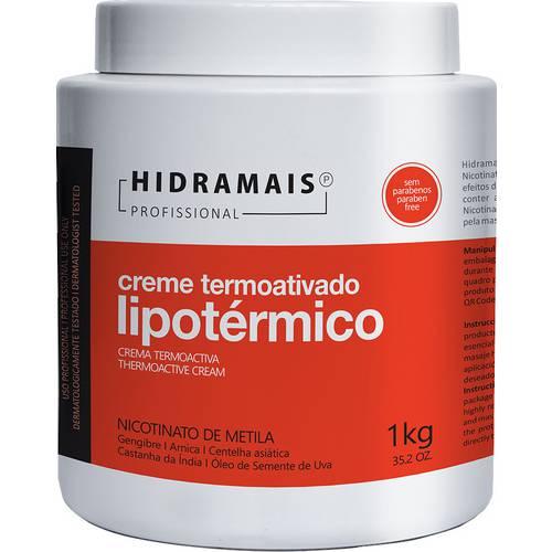 Creme Termoativado Lipotérmico 1kg - Hidramais