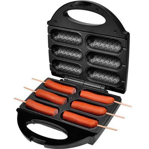 Crepeira e Hot Dog Britânia Six - Preta - 110V