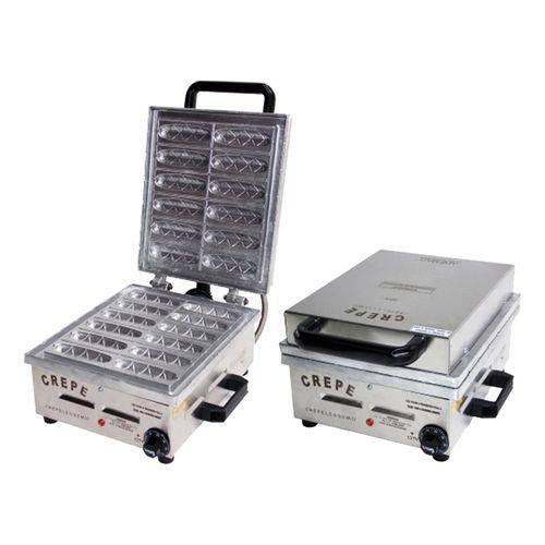 Crepeira Elétrica 12 Cavidades 2000w Inox - Ademaq