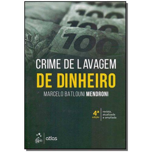 Crime de Lavagem de Dinheiro - 4ª Edição (2018)