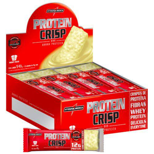 Crispin Bar (Caixa C/ 12 Unidades de 45g) - Integral Medica