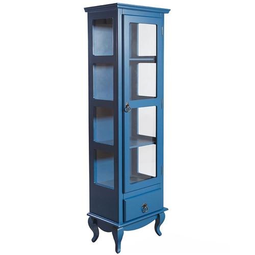 Cristaleira Candy Azul 1900X600 - Wood Prime TA 14568