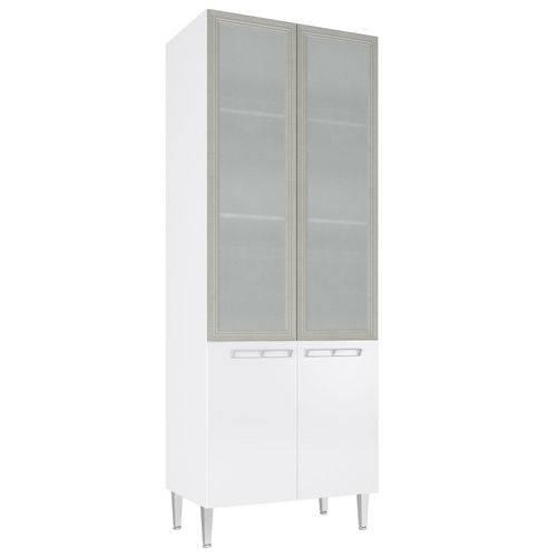 Cristaleira Mia Coccina 2 Portas Art In Móveis Branco