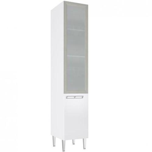 Cristaleira Profunda 1 Porta de Vidro CZ708 - Art In Móveis CZ708
