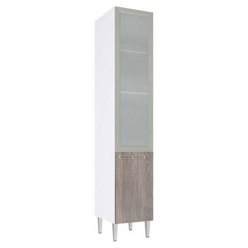 Cristaleira Profunda 1 Porta Vidro Mia Coccina 40x215 Rustico