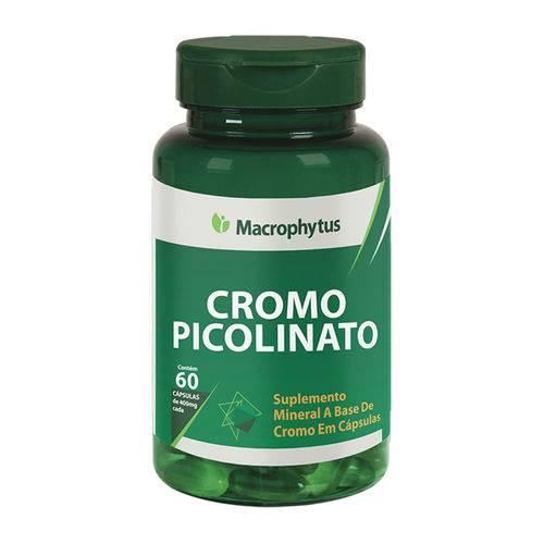 Cromo Picolinato 400mg Macrophytus - 60caps