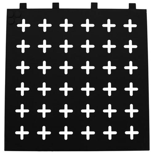 Cross Side Memory-board 40 Cm X 40 Cm Preto/branco