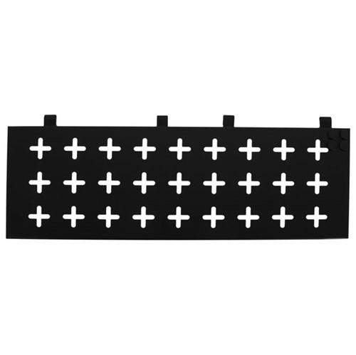 Cross Side Memory-board 60 Cm X 20 Cm Preto/branco