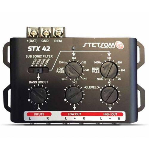 Crossover Eletrônico Stetsom Stx-42 2 Canais e 2 Vias