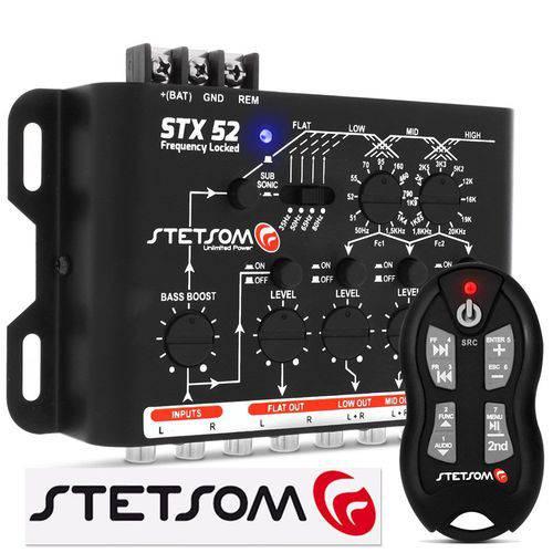 Crossover Stetsom Stx 52 + Controle de Longa Distância Stetsom