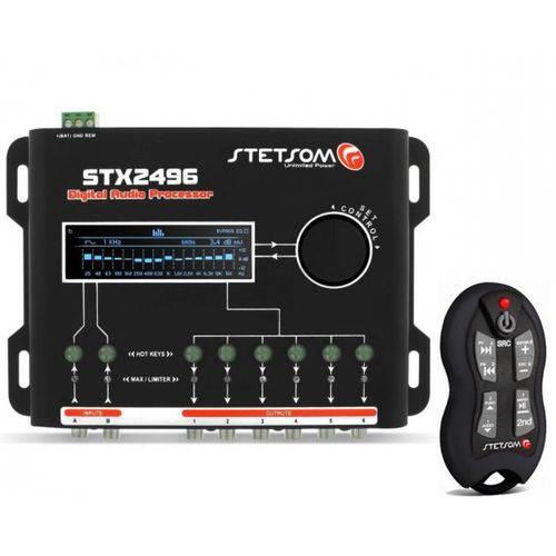 Crossover Stetsom Stx2496 + Controle de Longa Distância Stetsom