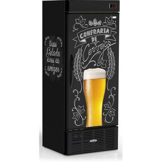 CRV-570 Cervejeira Refrigerada Vertical Lousa de Bar Conservex-220V