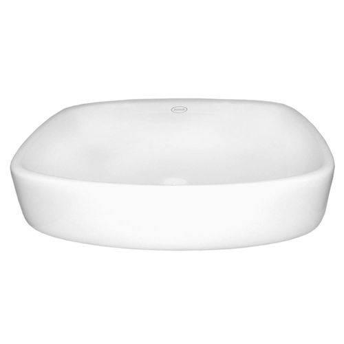 Cuba de Apoio para Banheiro Jacuzzi Romana 50,5cm X 38cm X 15cm Branco
