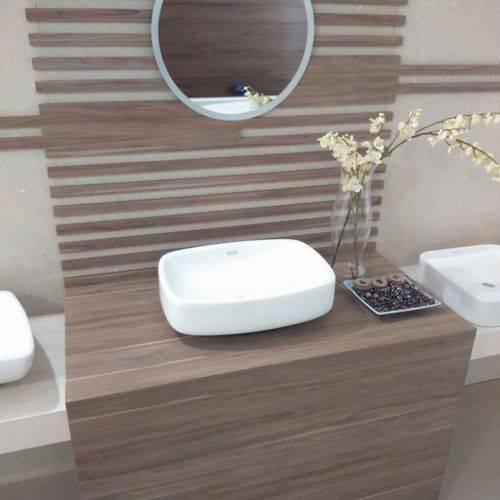 Cuba de Apoio para Banheiro Jacuzzi Romana 38cmx50,5cmx15cm Branco