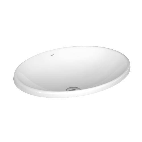 Cuba de Sobrepor Oval 50x37cm L680 Branco