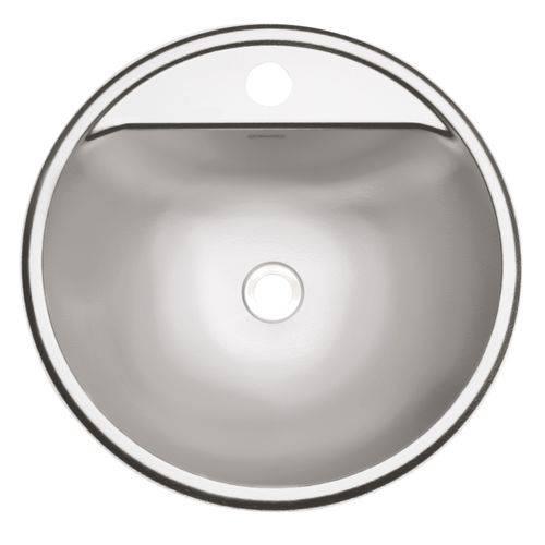 Cuba Lavabo Semicirc Aco Inox 34 Acetinado - 94121107 - Tramontina Teec