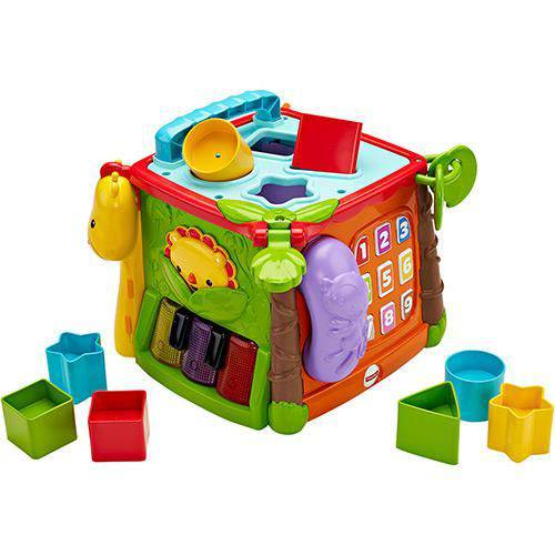 Cubo de Atividades Fisher Price Mattel Dlh47