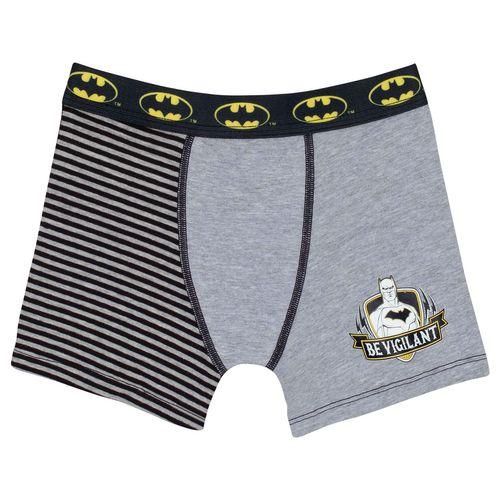Cueca Batman Boxer (Infantil) Tamanho: G | Cor: Cinza