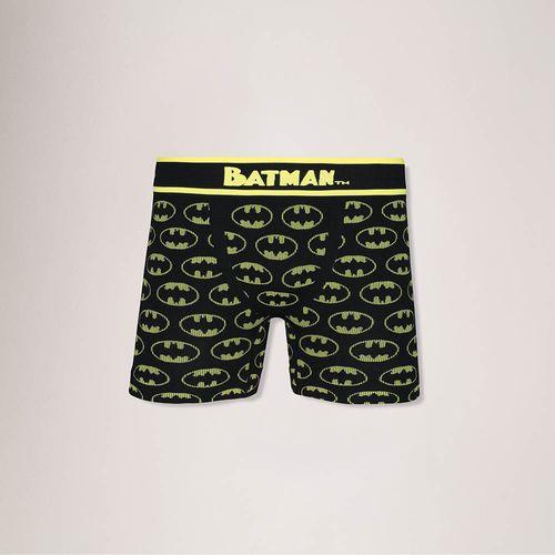 Cueca Batman Boxer Urban (Adulto) Tamanho: P   Cor: Preto