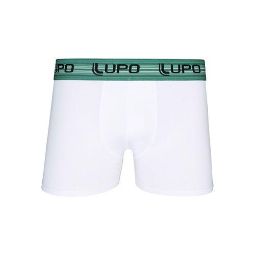 Cueca Lupo Boxer - Algodão com Elastano (Adulto) Tamanho: Gg   Cor: Branco