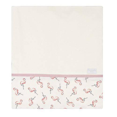 Cueiro Flamingo Malha 100% Algodão