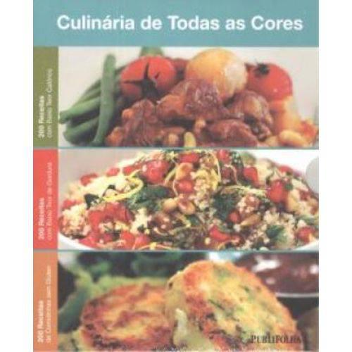 Culinaria de Todas as Cores - Box com 3 Livros
