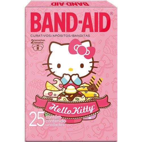 Curativo Band-aid Dec 25un-cx Hello Kitty