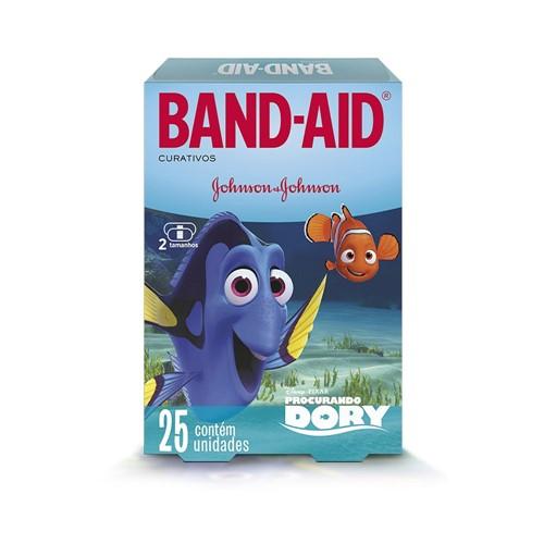 Curativo Band-Aid Decorado Procurando Dory C/ 25 Unidades