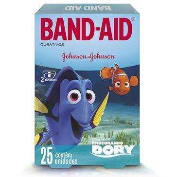 Curativo Band-Aid Dory com 25 Unidades