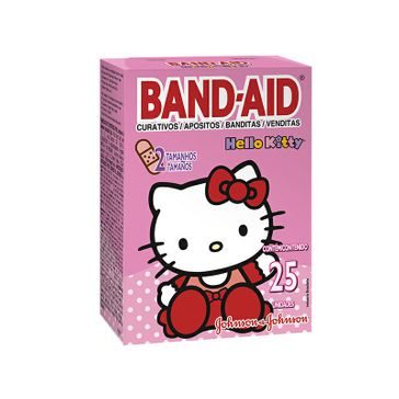 Curativo Band-Aid Hello Kitty 25 Unidades
