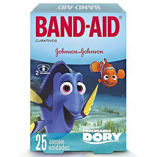 Curativo Band-Aid Procurando Dory C/ 25 Unidades
