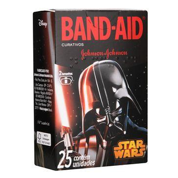 Curativo Band-Aid Star Wars com 25 Unidades