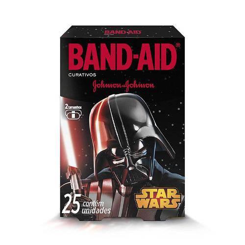 Curativo Band Aid Star Wars com 25 Unidades