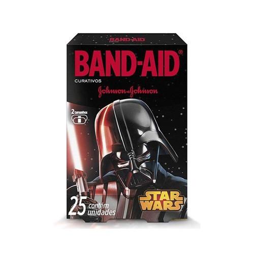 Curativo Johnson's Band-Aid Decorado Star Wars C/ 25 Unidades