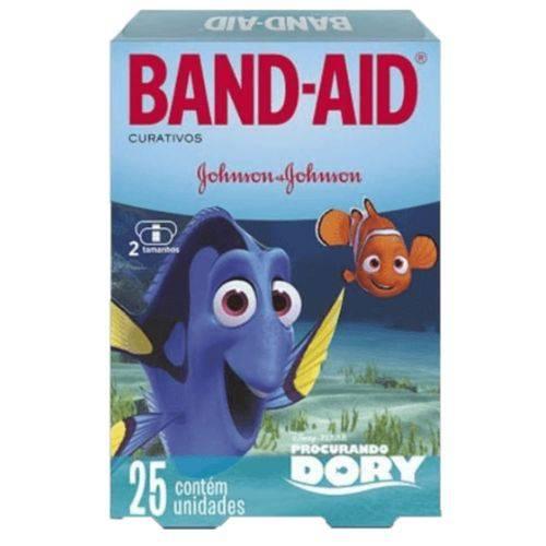 Curativo Transparente Band Aid C/25 Dory