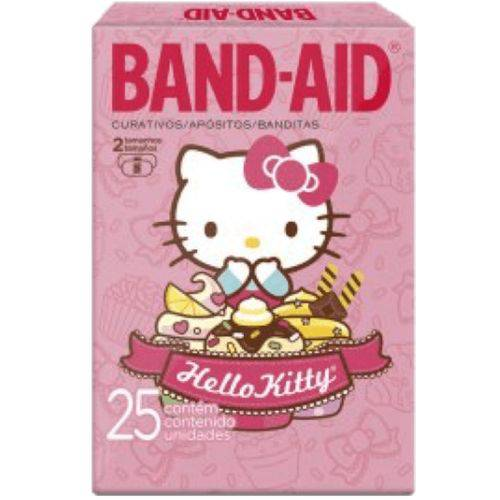 Curativo Transparente Band Aid C/25 Hello Kitty