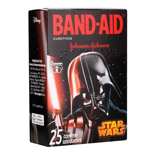 Curativos Band Aid Star Wars 2 Tamanhos 25 Unidades