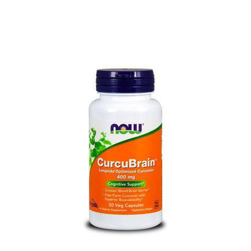 Curcubrain Longvida 400mg (50 Vcaps) Now Foods