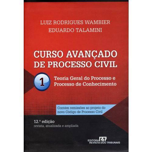 Curso Avançado de Processo Civil - Vol. 1 - 12ª Ed. 2012