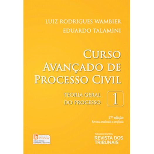 Curso Avancado de Processo Civil - Vol 1 - Rt